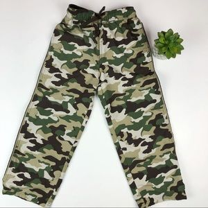 Jumping Beans Camouflage Green Brown Pants Size 7